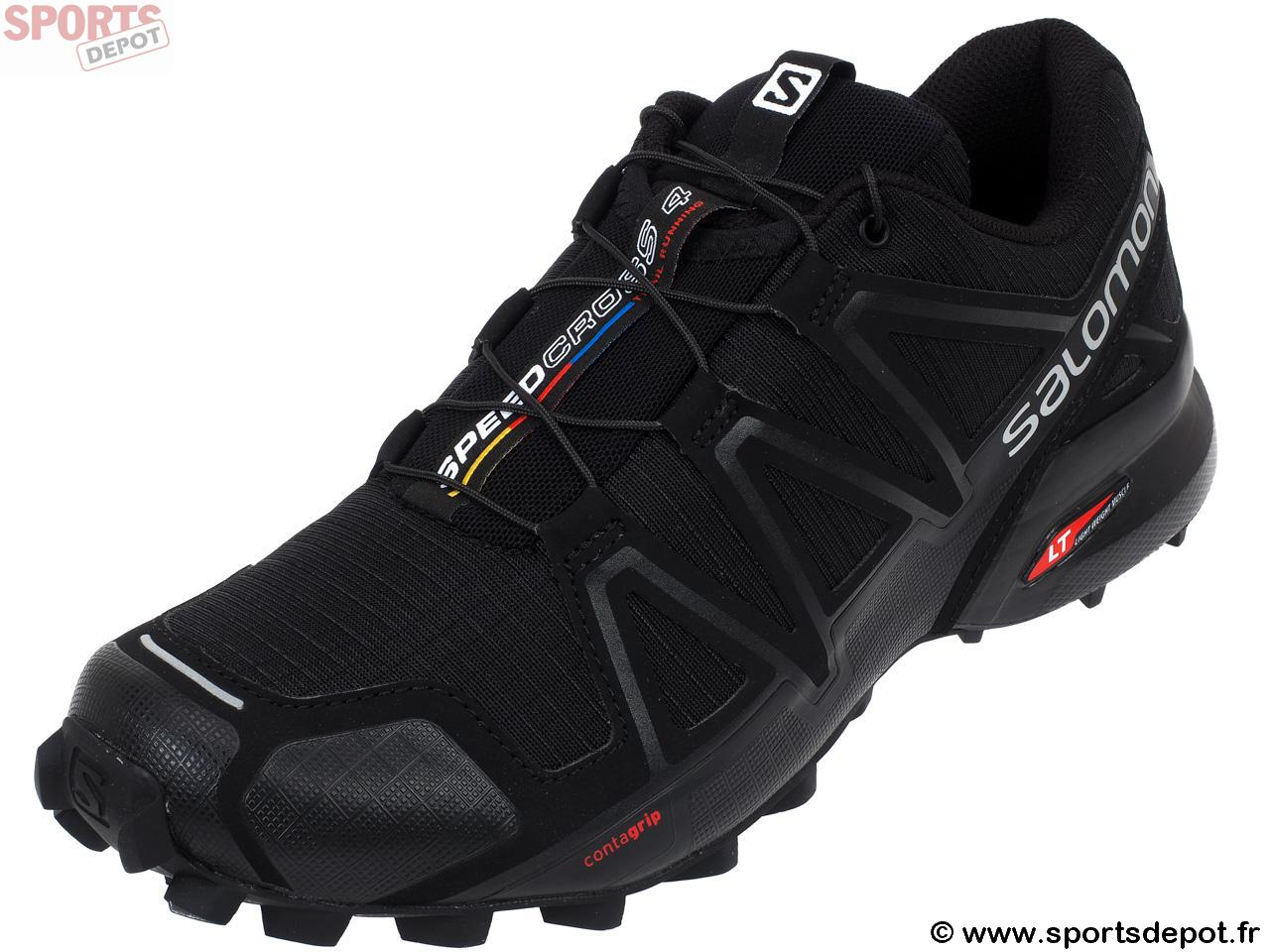 Chaussures Salomon Speedcross noires homme RQFlX1d