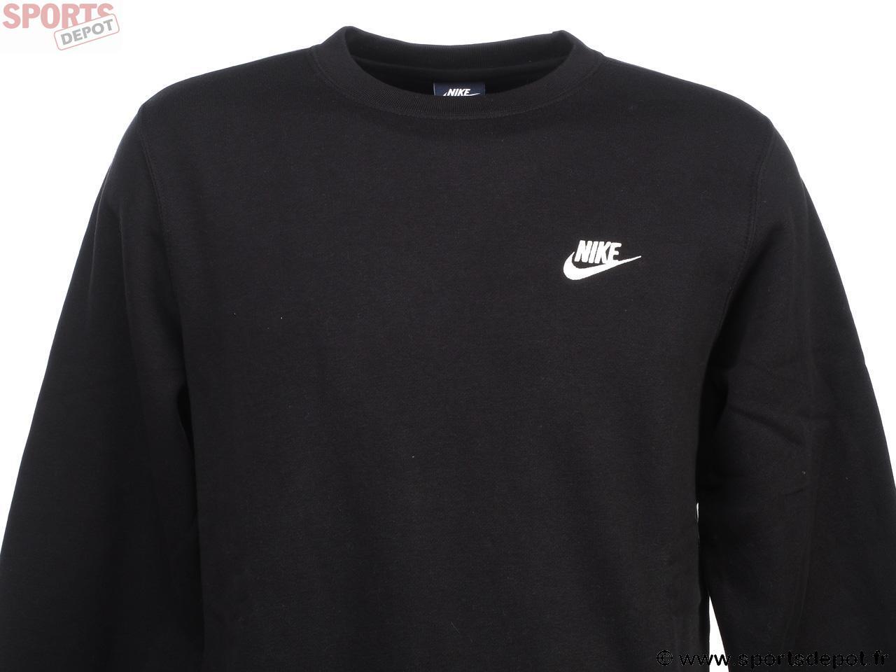 H Crew Acheter Mixte Comparer Achat Nike Club Homme Noir 2 Sweat x7PqPtYwa