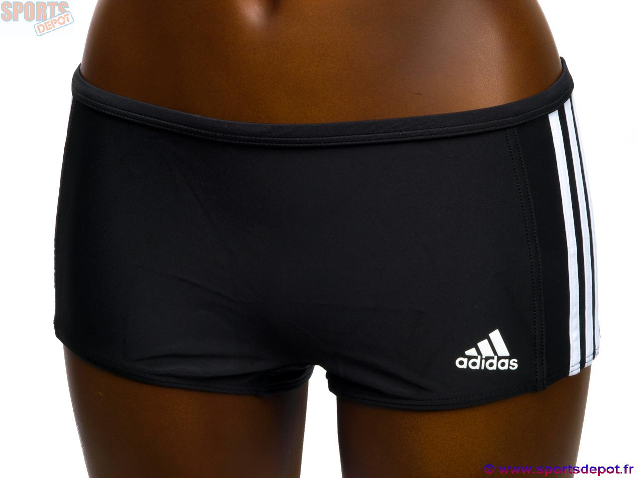 acheter maillot bain 2 pi ces adidas i 3s nr bl 2p shorty lady femme comparer achat vente. Black Bedroom Furniture Sets. Home Design Ideas