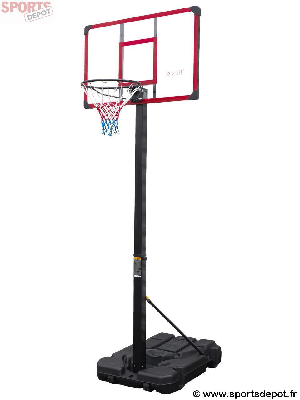 Acheter panneau de basket ball first price classic 112 70 225 305 homme m - Panneau de basket exterieur ...