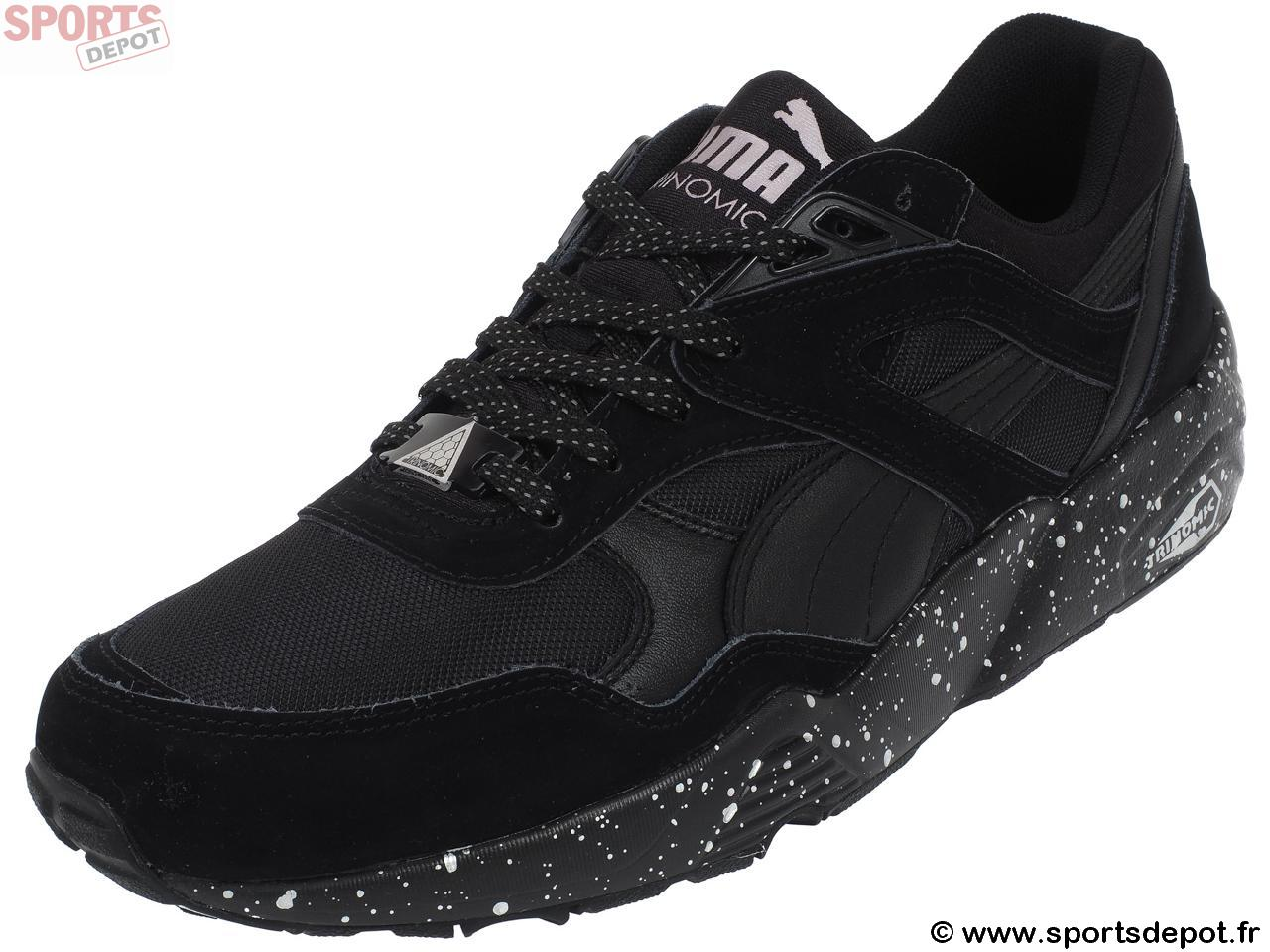 coupe classique 1bea2 4322d Acheter Chaussures mode ville PUMA R698 speckle v2 black ...