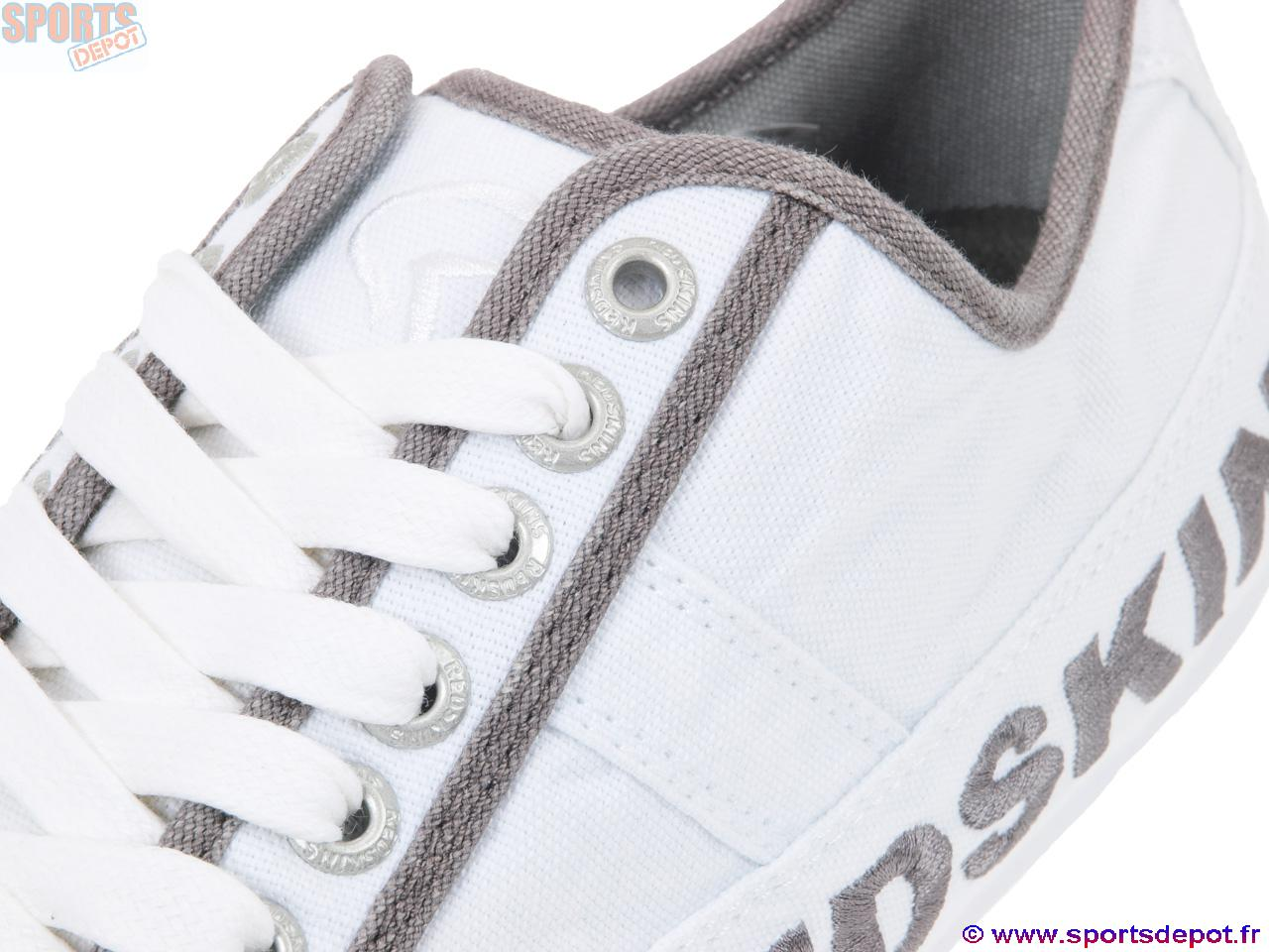 Chaussures Blancgun Redskins Canvas Tempo Acheter Basses Toile OdTwx6ag