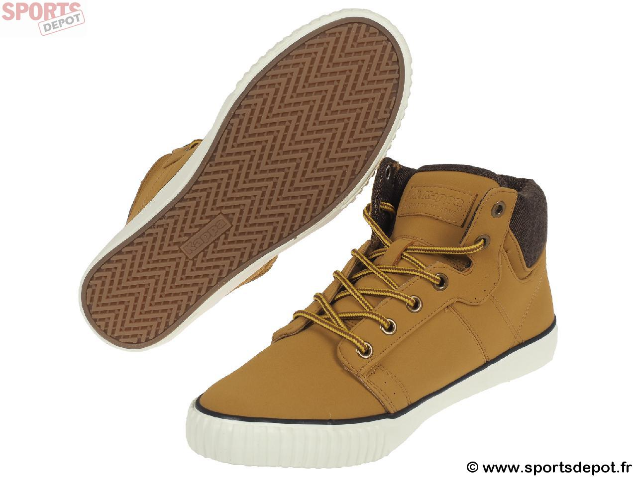 haute montantes KAPPA h Walter Homme mi Acheter Chaussures mid tan 9YWDH2EIe