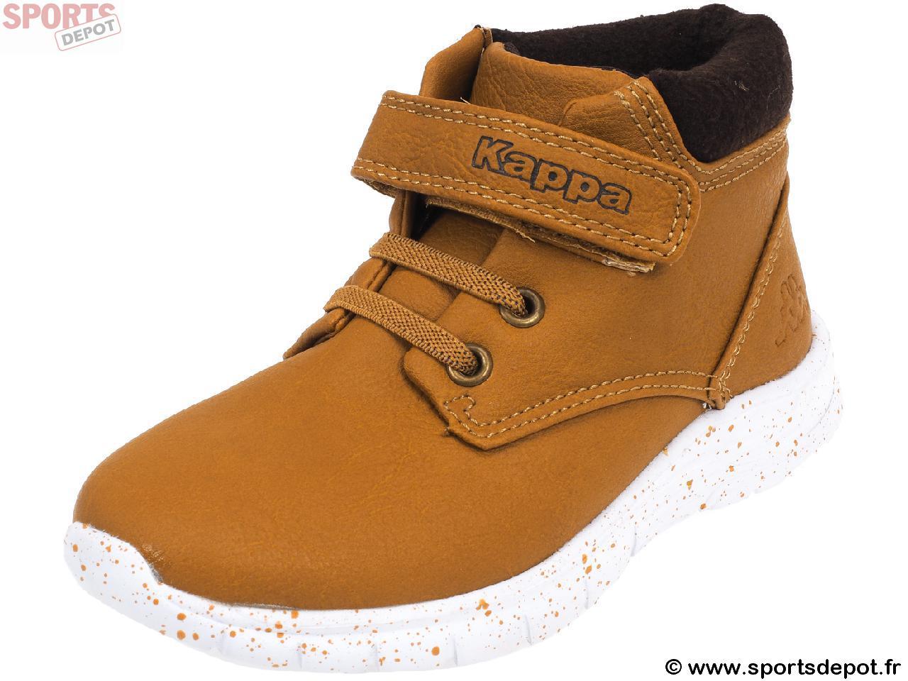 18f14a42c0eee Acheter Chaussures mid mi montantes KAPPA Cit bb tan marron baby ...
