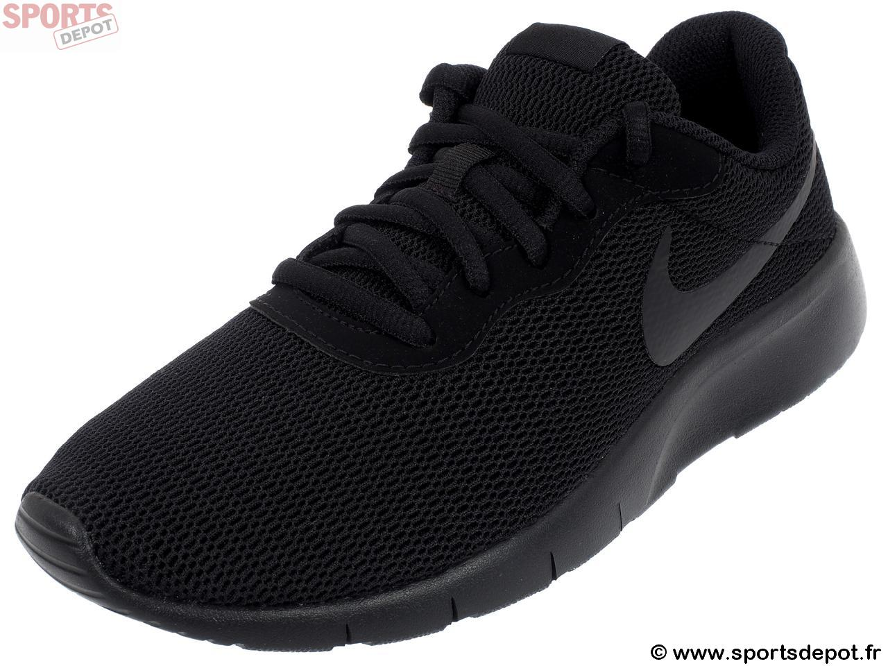 fce7ddacd16eb Acheter Chaussures running mode NIKE Tanjun jr noir noir - Enfant ...