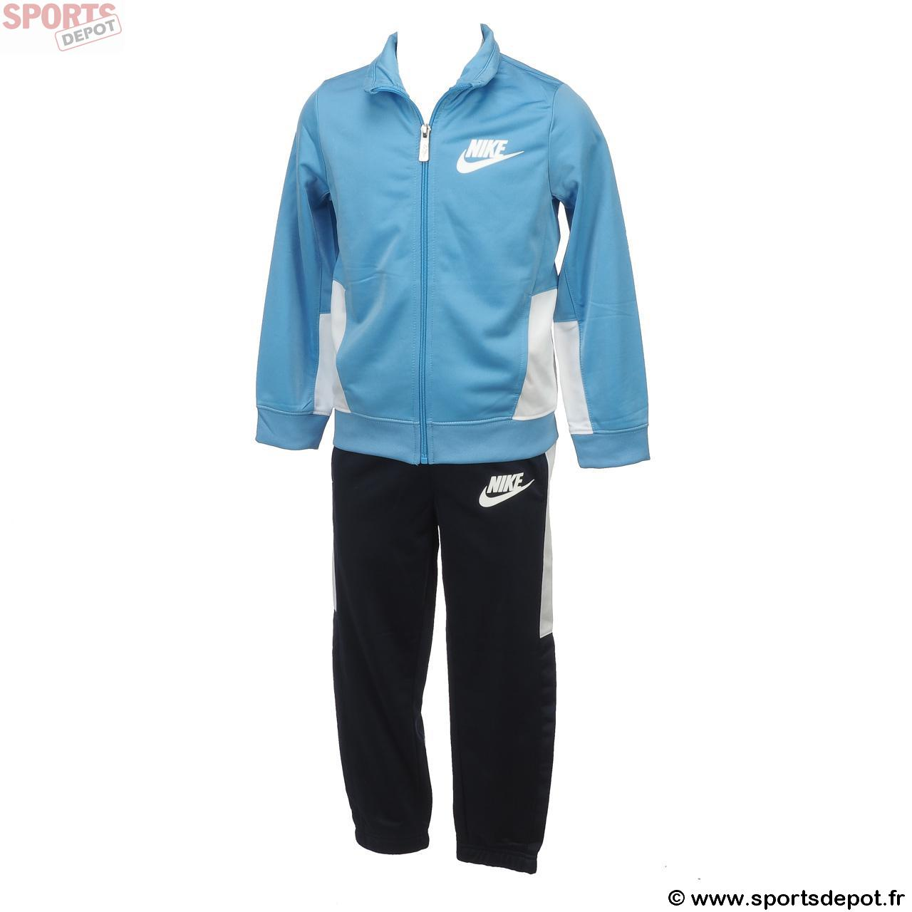 d153c6bc9bd87 Acheter Survetement ensemble NIKE kid Futura tricot set bleu ...