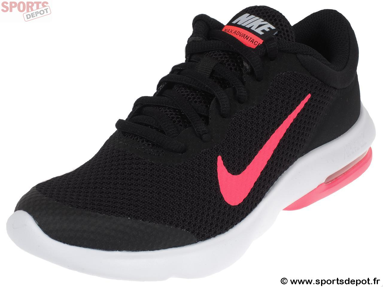 d9c5331ab196f Acheter Chaussures running mode NIKE Air max advantage rose - Fille ...