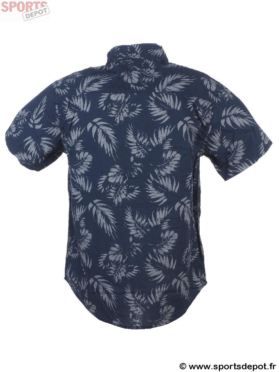 Mc Shirt Tropicool Courtes Manches Navy Longboard Chemise Acheter OzwqZPvSv