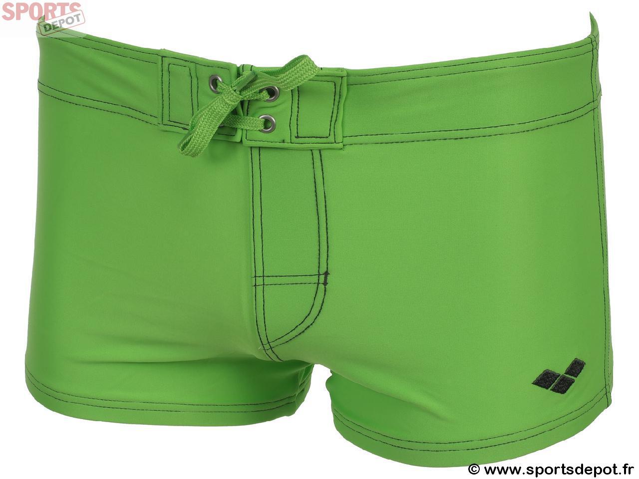 9282892080751 Acheter Maillot de bain boxer ARENA Basolox vert fluo boxer - Homme ...