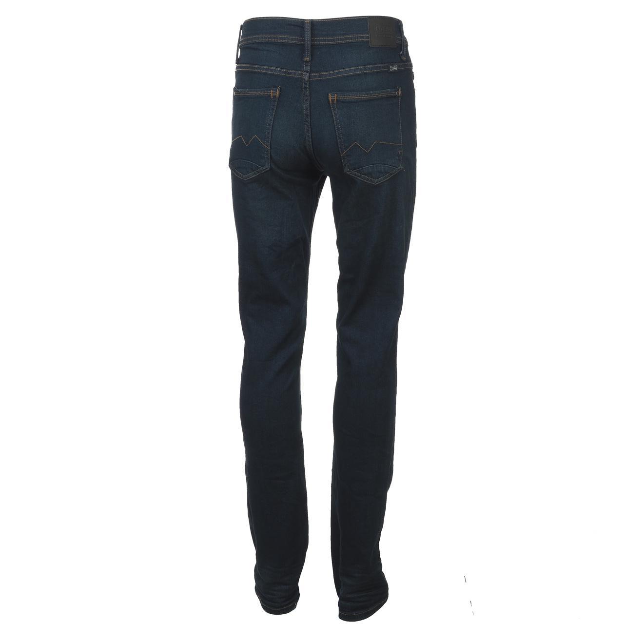 Jeans-Pants-Slim-Blend-Twister-34-Dk-Blue-Blue-Jeans-10961-New thumbnail 5