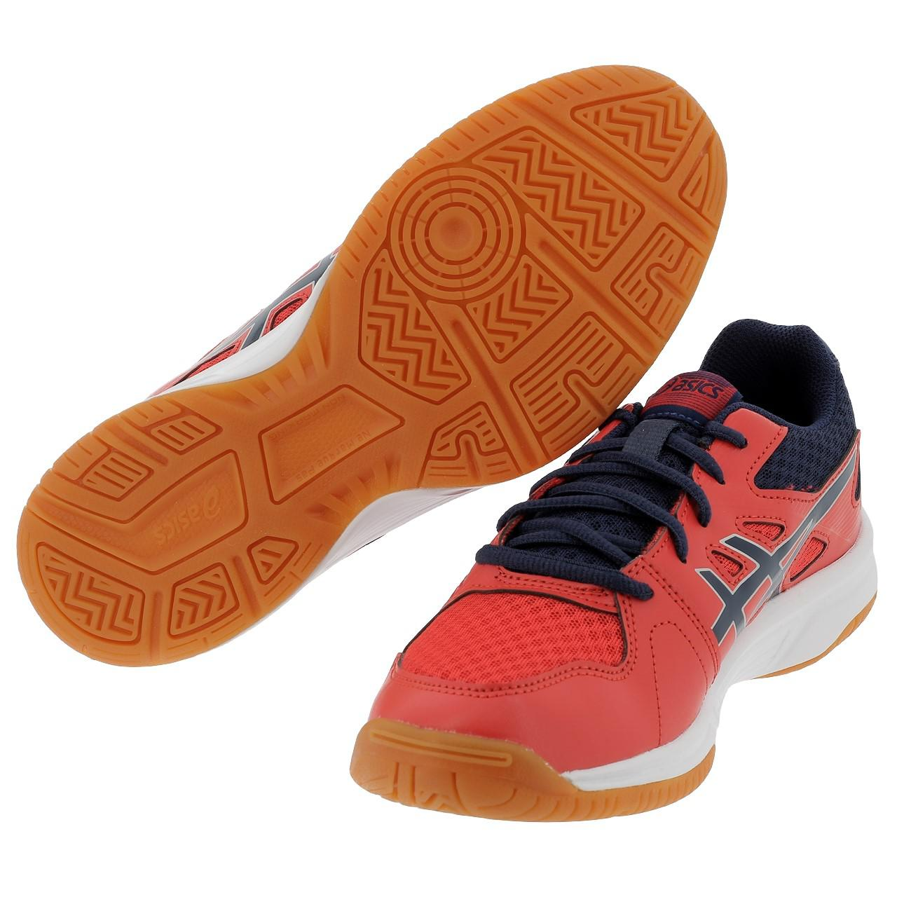 Shoes-Volleyball-Basketball-Asics-Upcourt-3-Rge-Indoor-Jr-Red-11133-New thumbnail 4