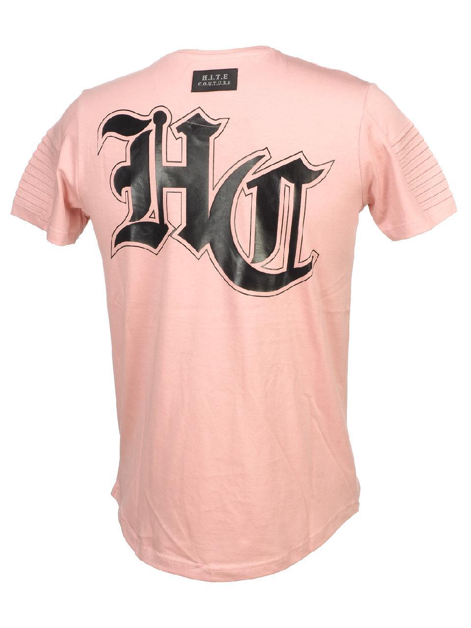 Short-Hite-Couture-Mafler-Pink-Mc-Tee-Pink-11529-New thumbnail 5