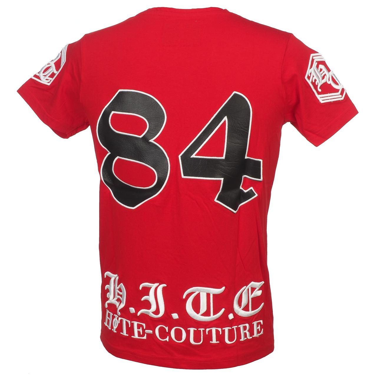 Short-Hite-Couture-Mount-Red-Mc-Tee-Red-11554-New thumbnail 5