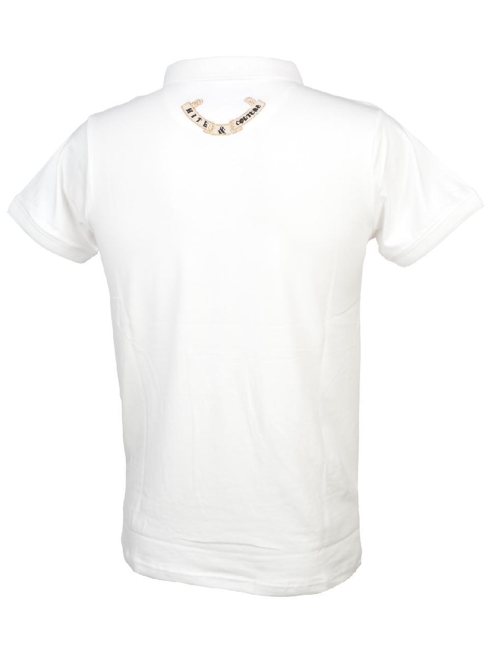 Short-Sleeve-Polo-Hite-Couture-Pamiler-White-Mc-Polo-White-11569-New thumbnail 5