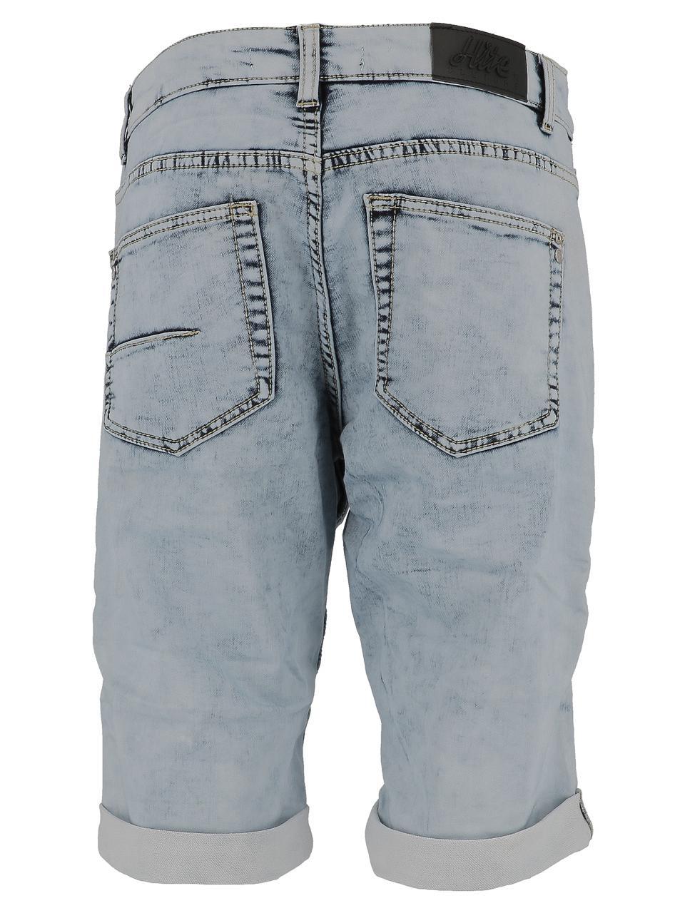 Bermuda-Shorts-Hite-Couture-Spill-Denim-Blue-Bermuda-Blue-11588-New thumbnail 5