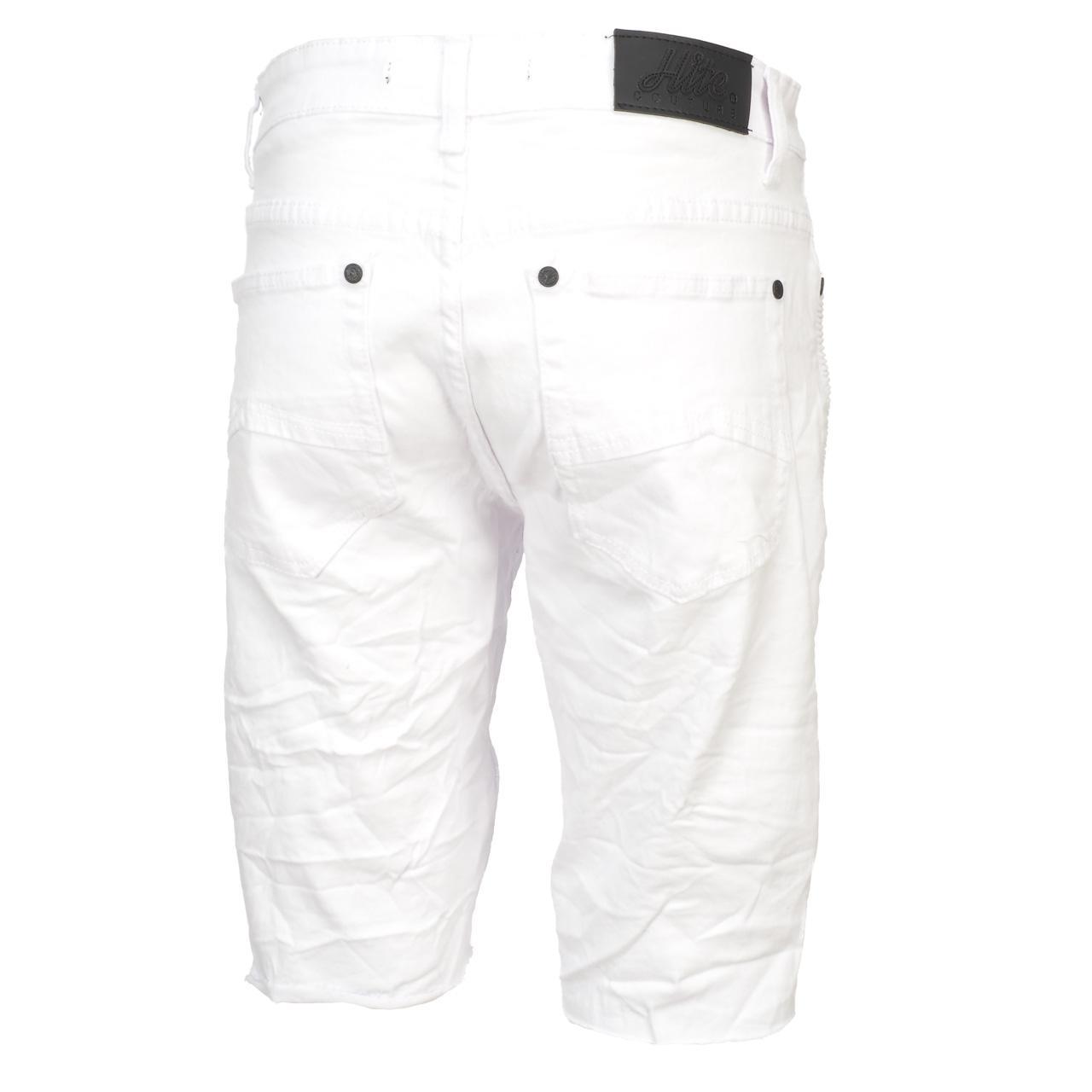 Bermuda-Shorts-Hite-Couture-Vibrate-White-Bermuda-White-11650-New thumbnail 5