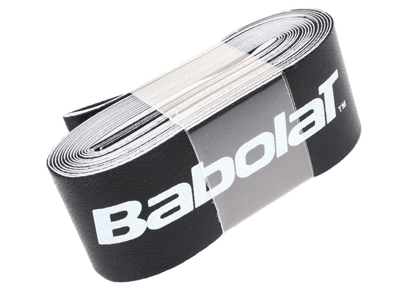 Protection-de-raquette-tennis-Babolat-Super-tape-noir-Noir-14136-Neuf miniature 5