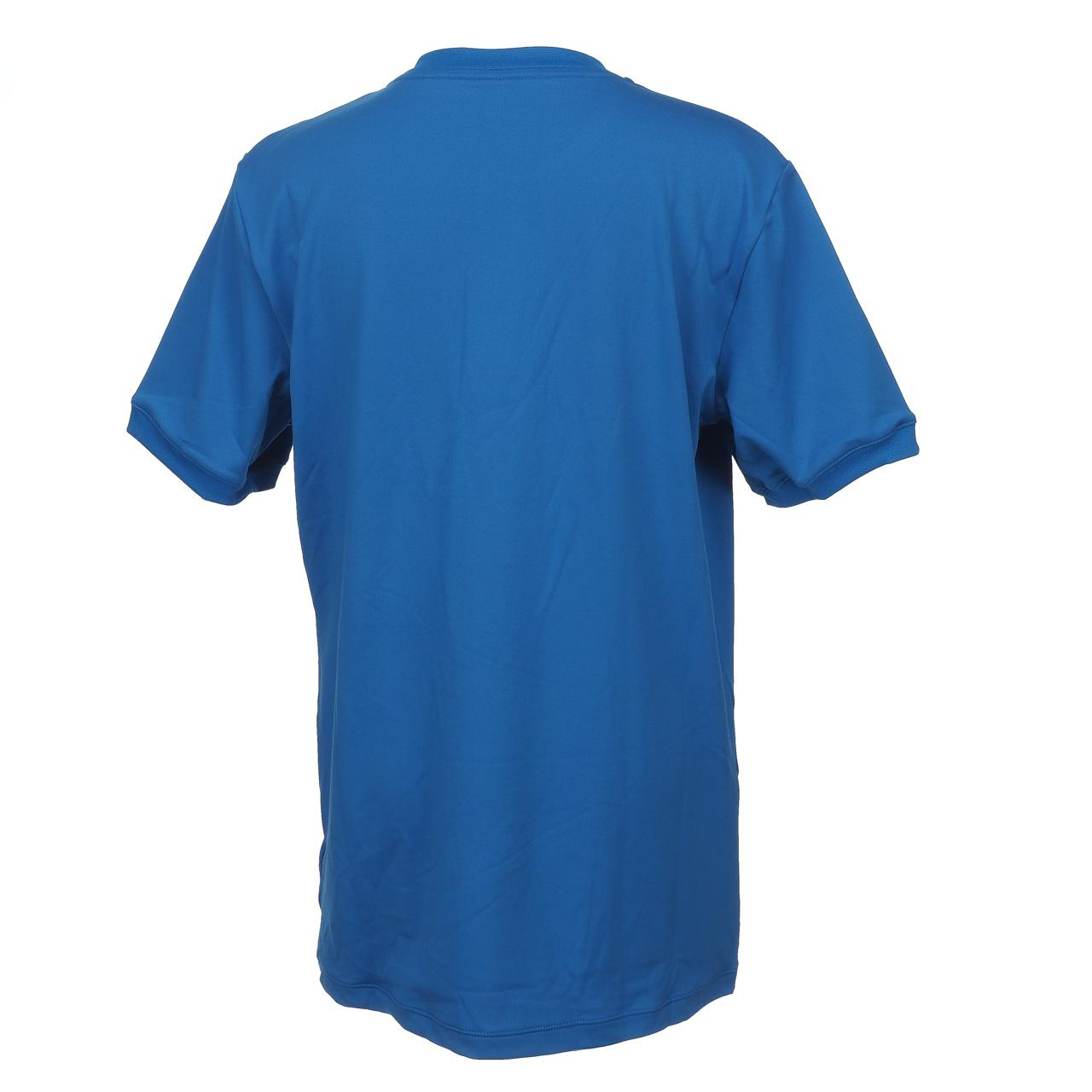 T-Shirt-Tennis-Wilson-Henley-Jr-Blue-Mc-Blue-15572-New thumbnail 4