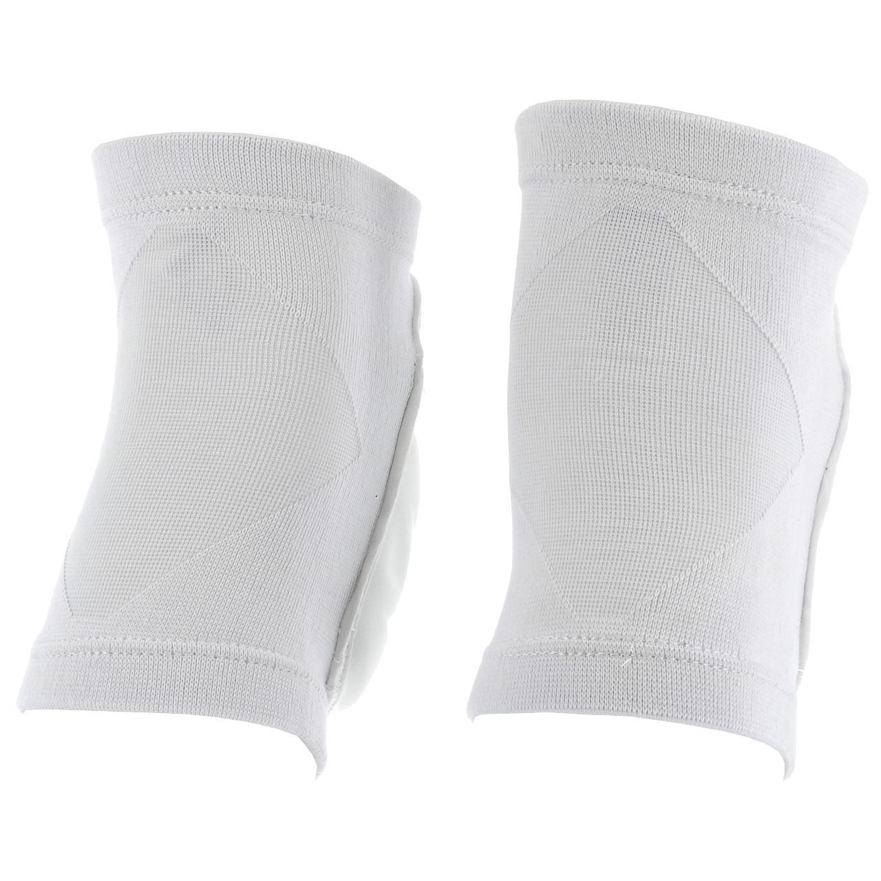 Knee-Pad-Set-Protection-Asics-Performance-White-Kneepad-White-15977-New thumbnail 4