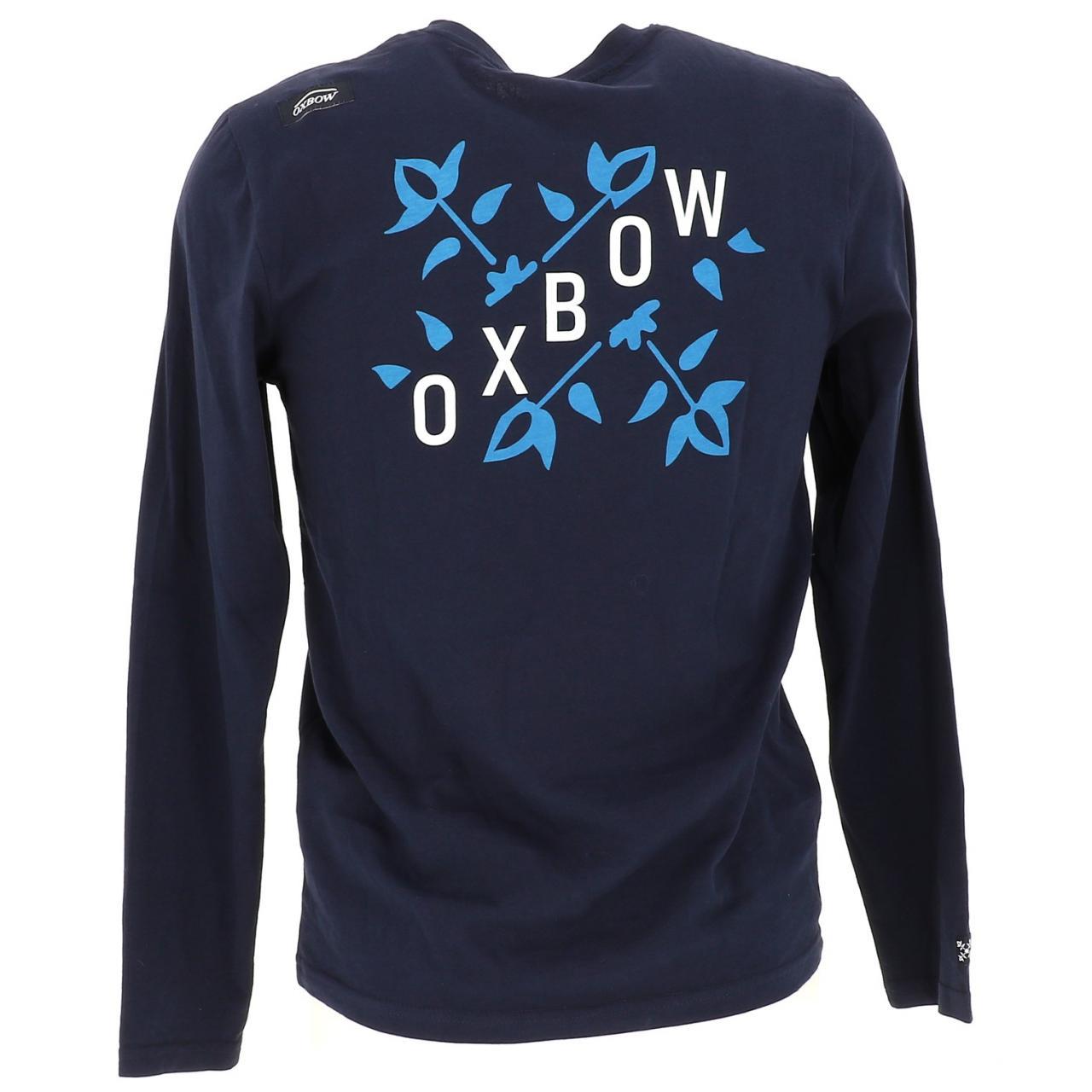 T-Shirt-Oxbow-T-Shirt-Deep-Navy-ML-Blue-16562-New thumbnail 5