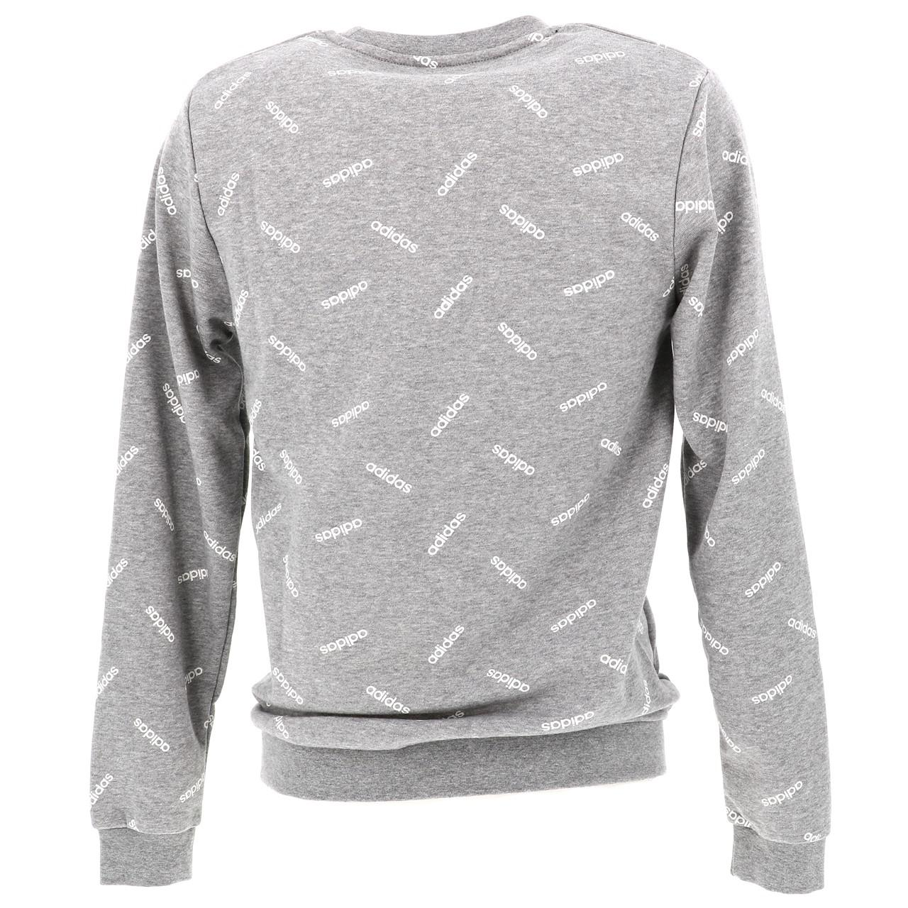 SWEAT ADIDAS M aop gris chine sweat Gris 16658 Neuf EUR
