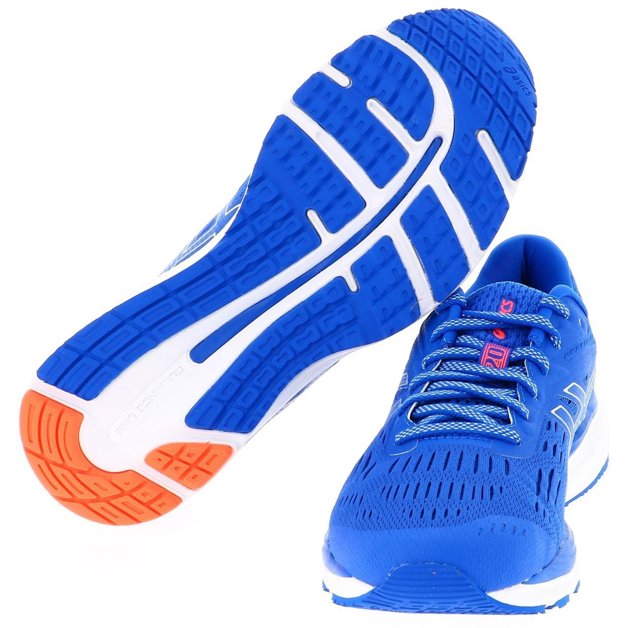 running Cumulus de Gel Run 20 Asics 16967 Zapatillas Nuevo Blue q6fpw55