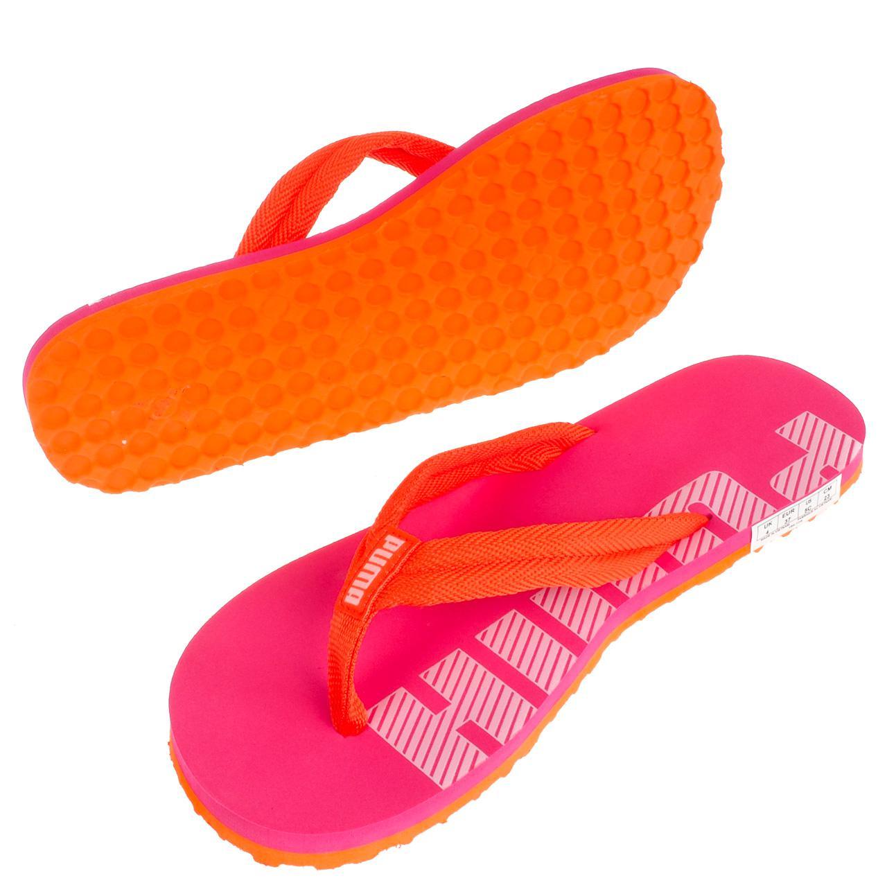 Latschen-Flip-Flops-Puma-Epic-Flip-v2-Rosa-Flip-Flops-Jr-Rosa-17067-Neu Indexbild 5