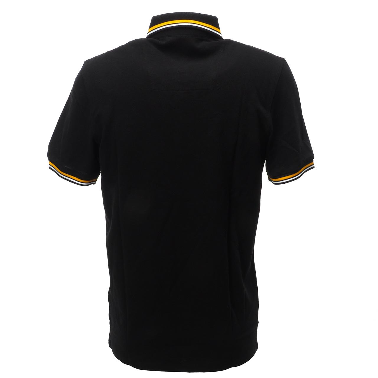 Short-Sleeve-Polo-Jack-and-Jones-Challenge-Black-Mc-Polo-Black-17260-New thumbnail 5