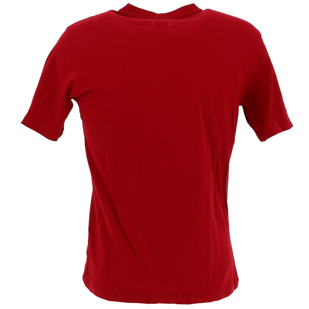 Short-Sergio-tacchini-Candytuft-Apple-Red-Mc-Tee-Red-17767 thumbnail 5