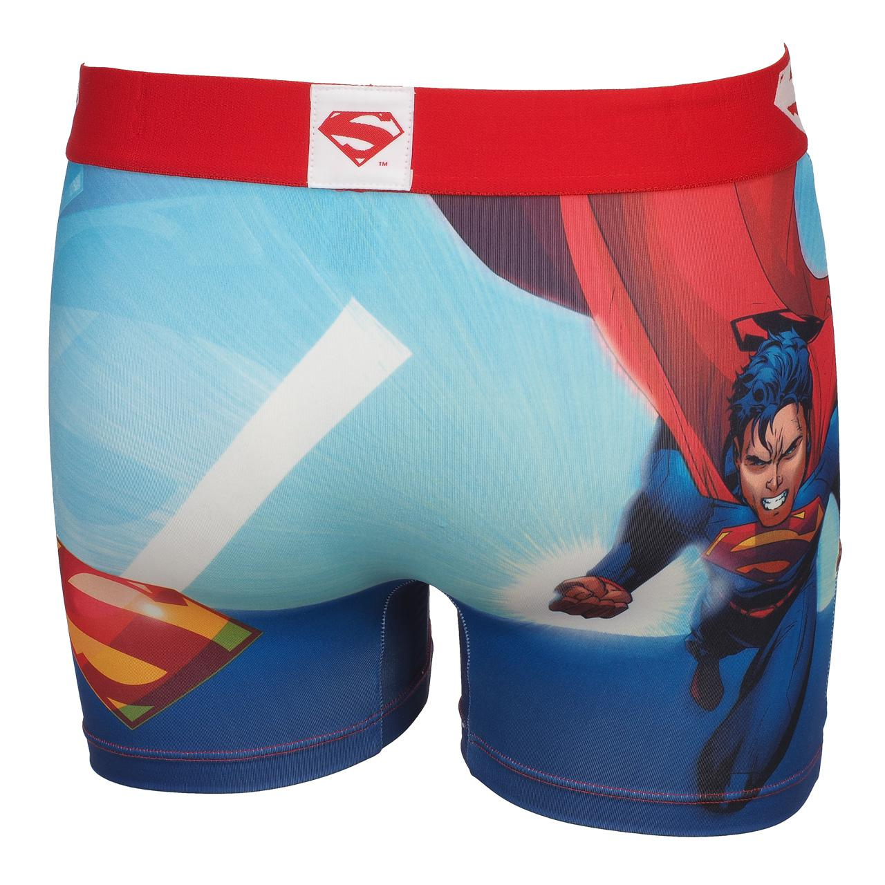 Underwear-Boxer-Freegun-Fly-Blue-Rge-Boxer-White-17911-New thumbnail 5