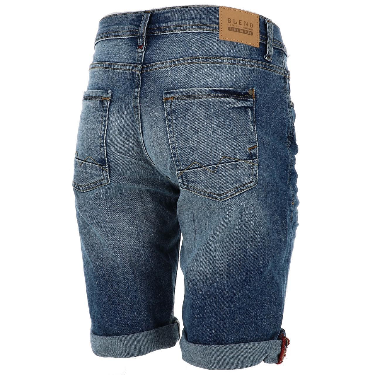 Bermuda-Shorts-Blend-Jork-Denim-Lt-Blue-Shorts-Blue-18056-New thumbnail 5