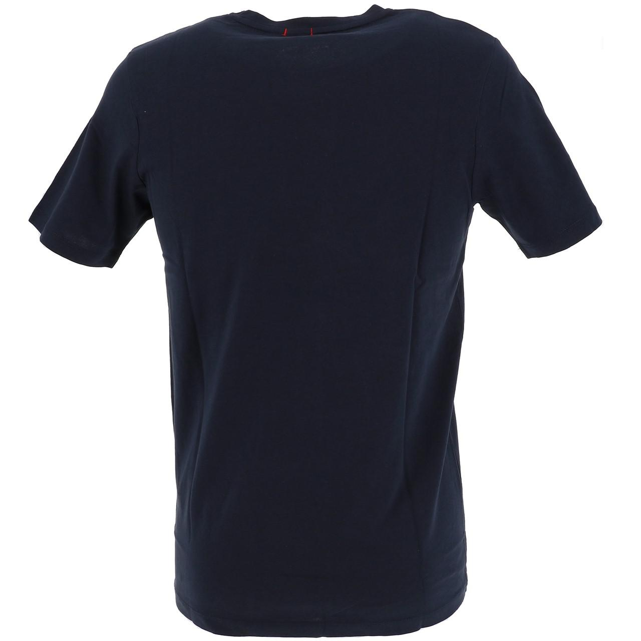 Short-Jack-and-jones-Hotel-Total-Eclipse-Tee-Blue-18535-Does-Not thumbnail 5
