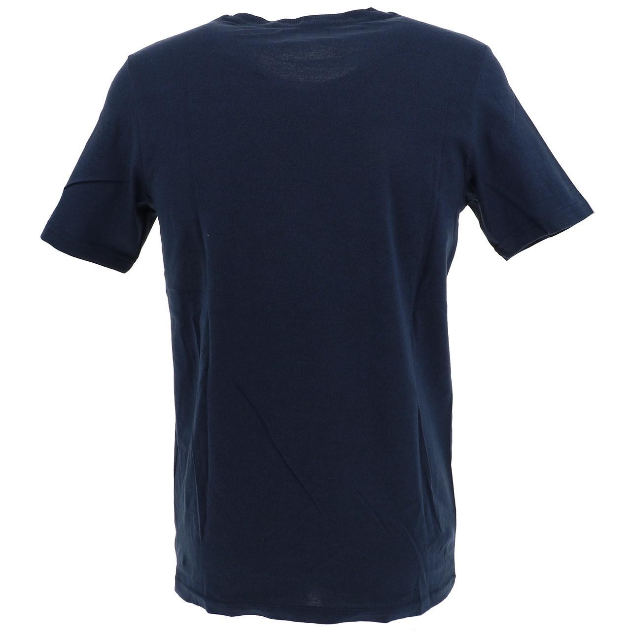Short-Sleeve-T-Shirt-Jack-and-Jones-Quinn-Totaleclipse-Mc-Tee-Blue-18540 thumbnail 5
