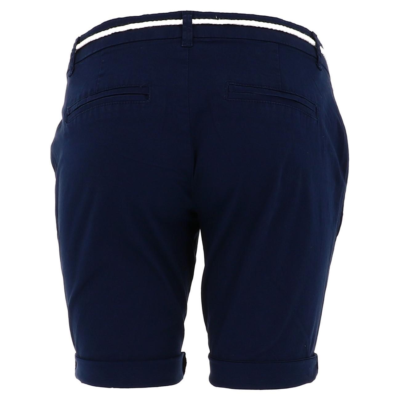 Bermuda-Shorts-Only-Paris-L-Chino-Navy-Shorts-Blue-18677-New thumbnail 5