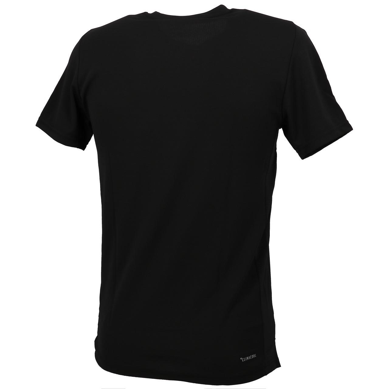 Short-Sleeve-T-Shirt-Adidas-BB-Black-Mc-Tee-Black-18895-New thumbnail 5