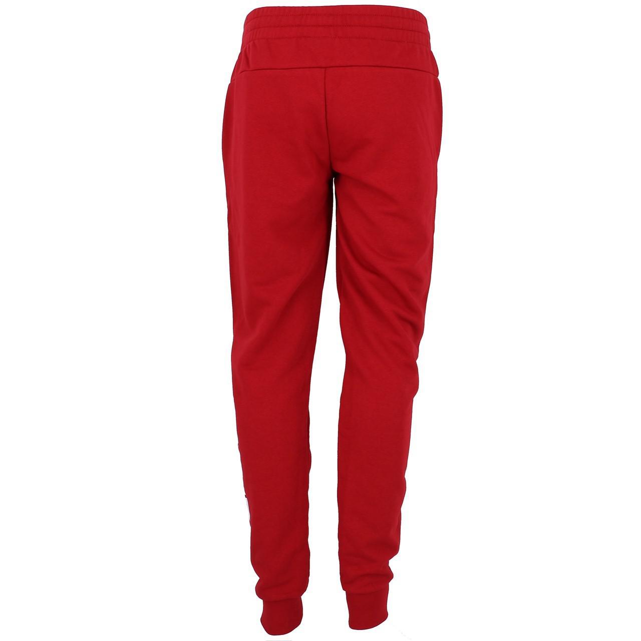 Pantalon-de-survetement-Adidas-E-lin-bdx-wht-pant-l-Rouge-18961-Neuf miniature 5