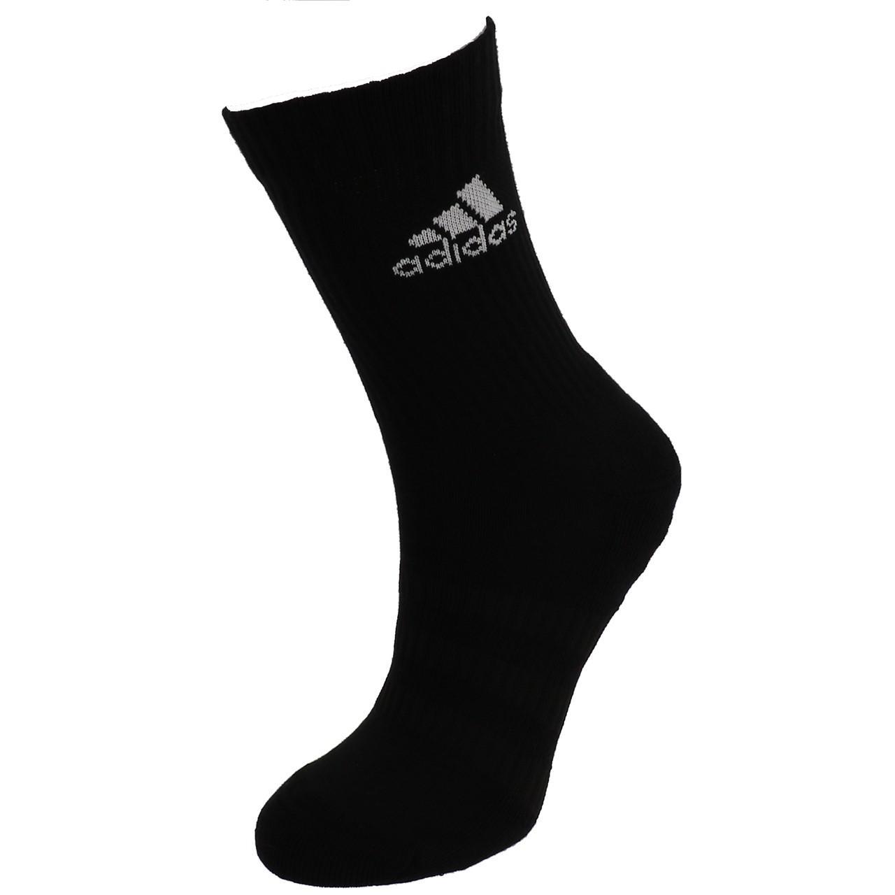 Short-Socks-Socks-Adidas-3s-Perf-Crew-cho7-nr-6pp-Black-19049-New thumbnail 4