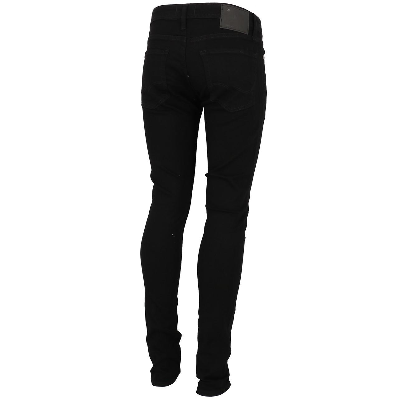 Jeans-Pants-Jack-and-jones-Liam-32-Blk-Denim-Black-Jeans-19909-New thumbnail 5