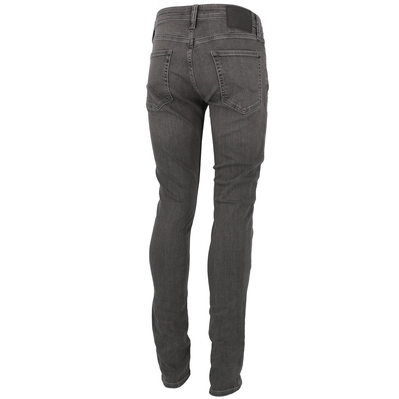 Jeans-Pants-Jack-and-jones-Liam-32-Grey-Denim-Jeans-Grey-19911-New thumbnail 5