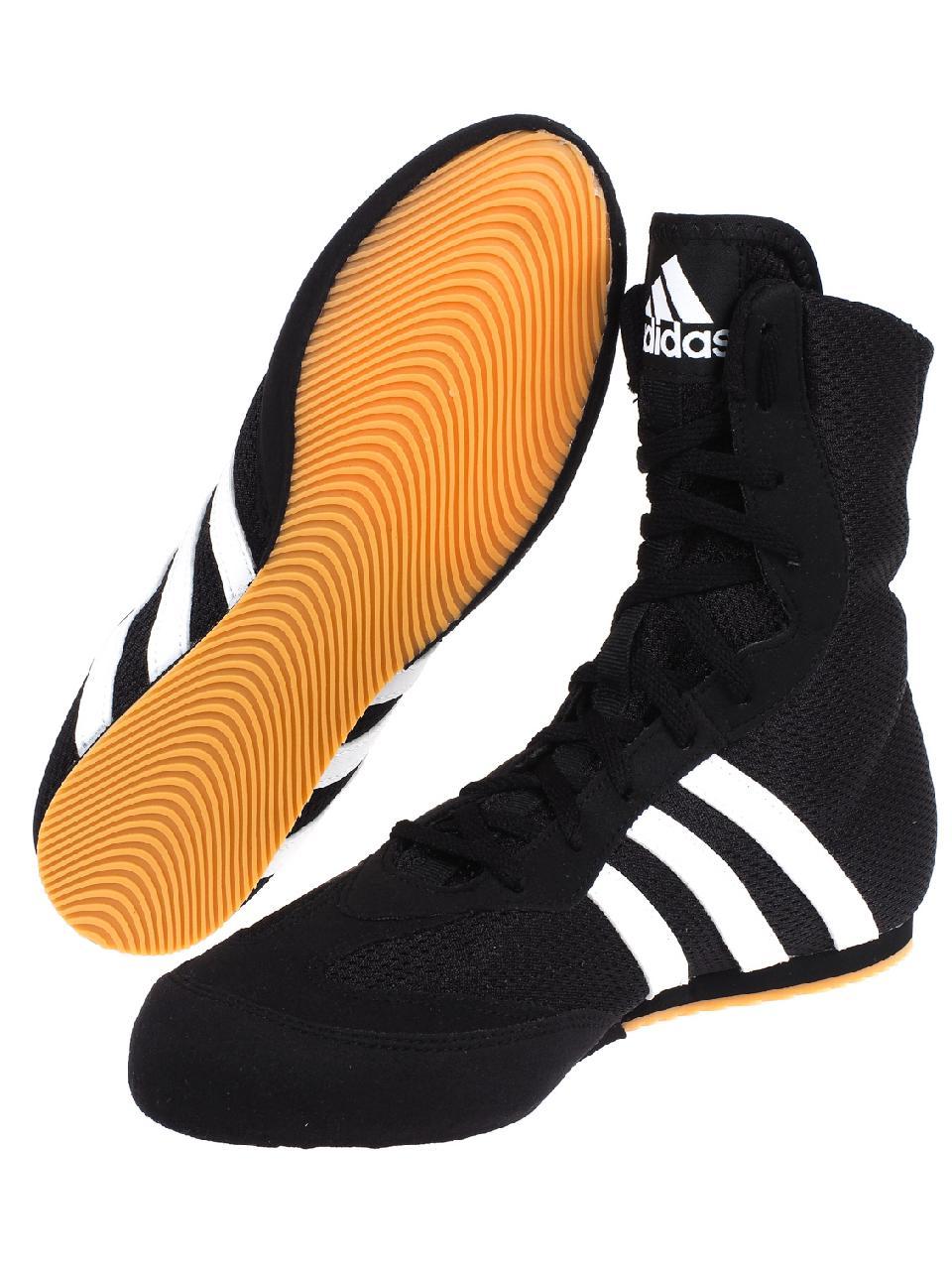 Détails sur Chaussures boxe Doubled adidas Chaussures boxe anglaise Noir 22975 Neuf