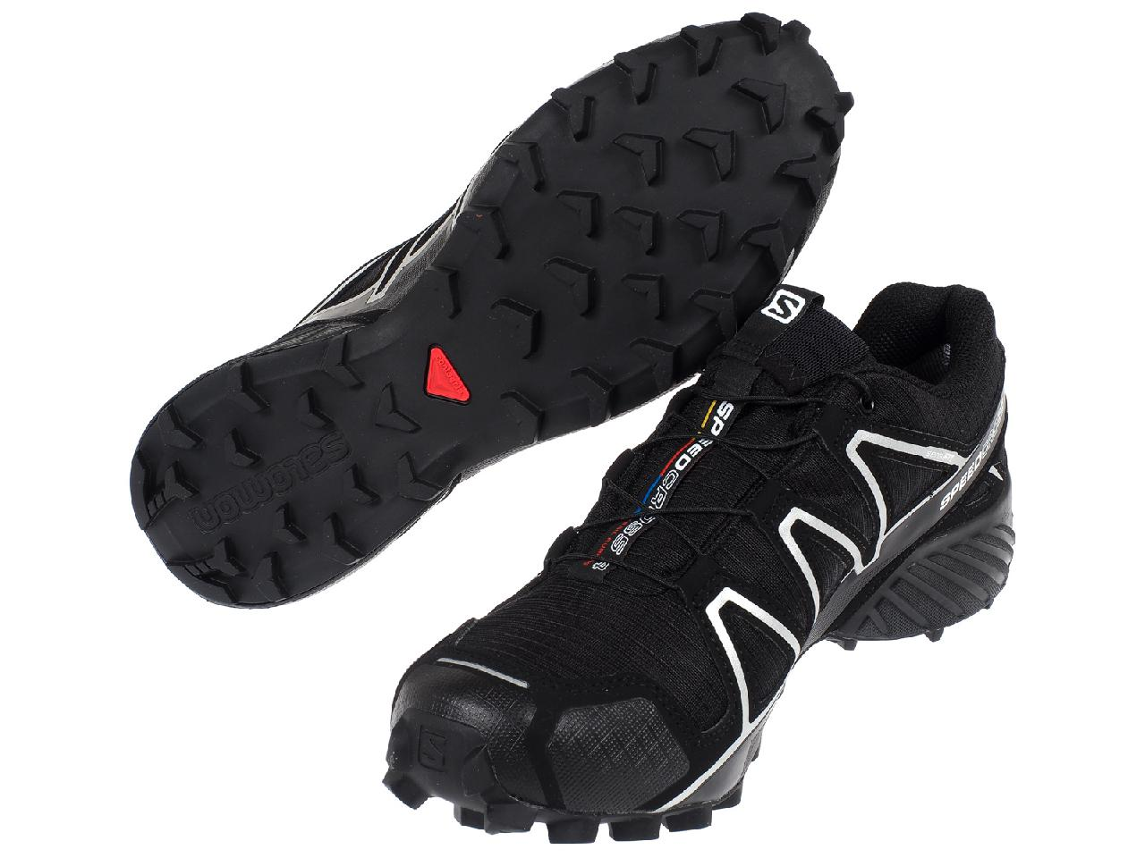 Zapatos-Running-Rastro-Salomon-Speed-Cross-4-GTX-Nr-Run-Negro-24186-Nuevo miniatura 5