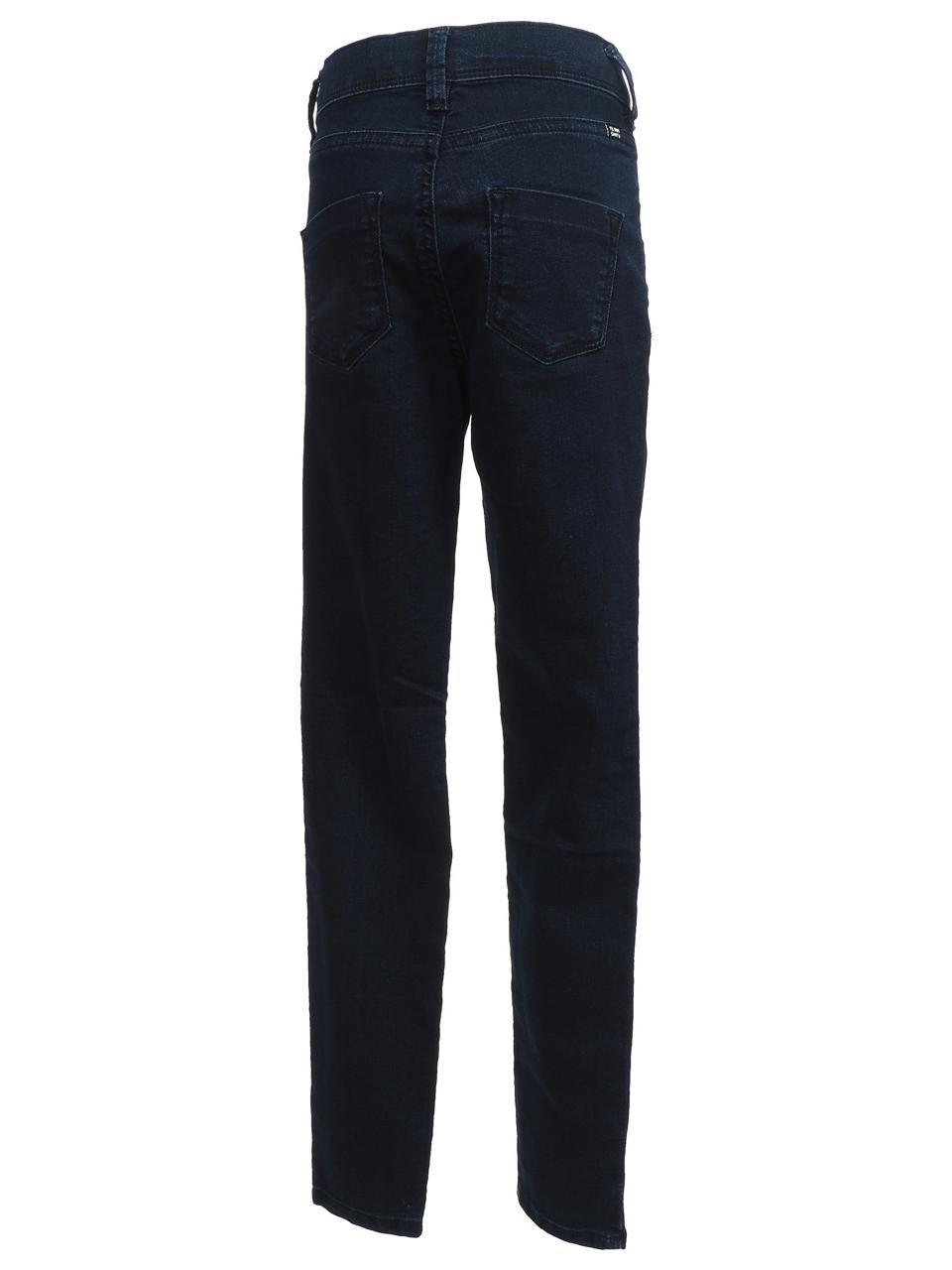 Pantalon-jeans-Teddy-smith-The-jeg-navy-jeans-girl-Bleu-24306-Neuf miniature 5