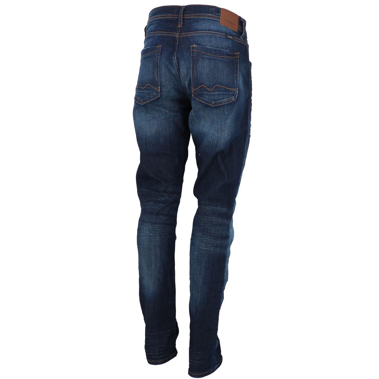 Jeans-Pants-Slim-Blend-Twister-34-Denim-Dark-Reg-Blue-25943-New thumbnail 5