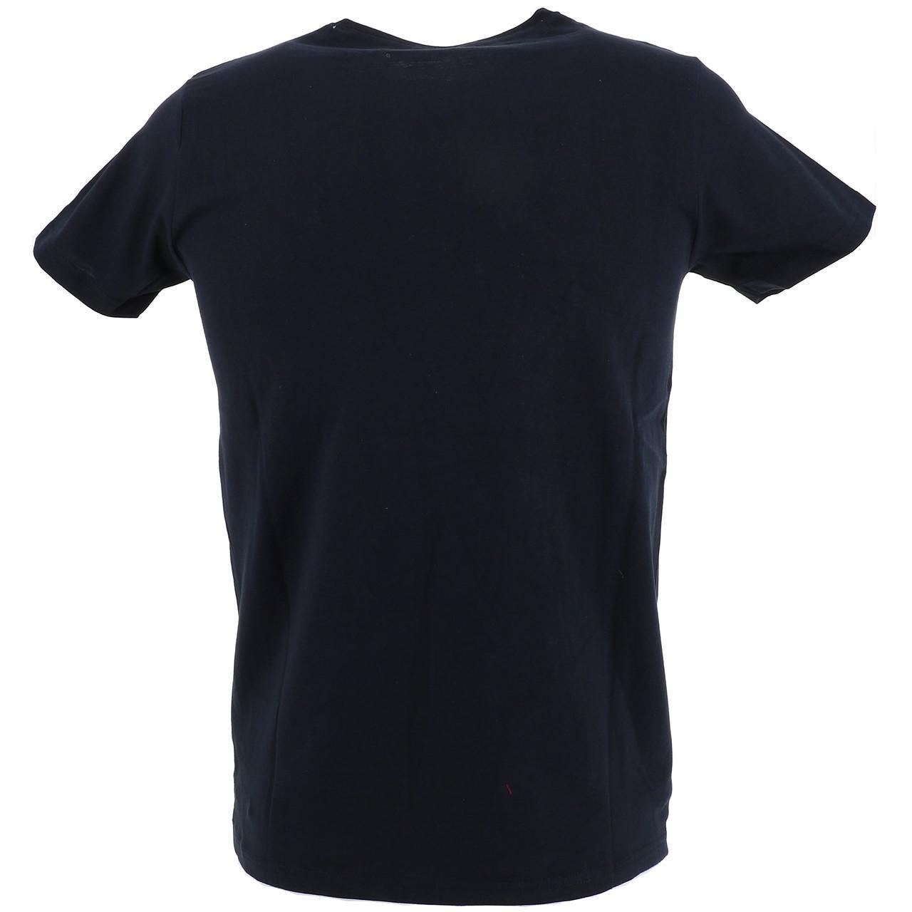 Short-Sleeve-T-Shirt-La-Maison-Blaggio-Marteli-Navy-Mc-Tee-Blue-27339-New thumbnail 5