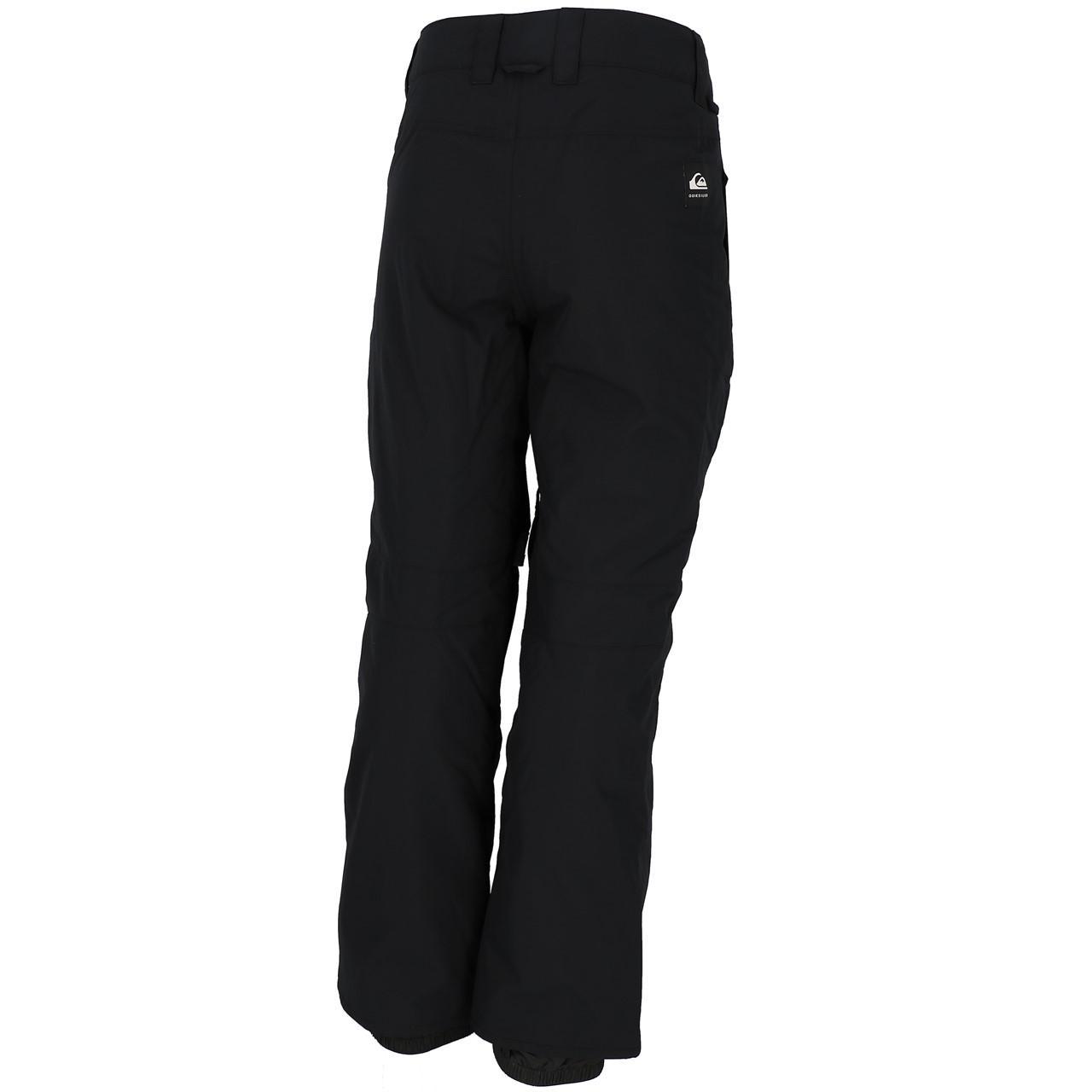 Ski-Pants-Surf-Quiksilver-Estate-Black-Pant-Ski-Jr-Black-27846-New thumbnail 4