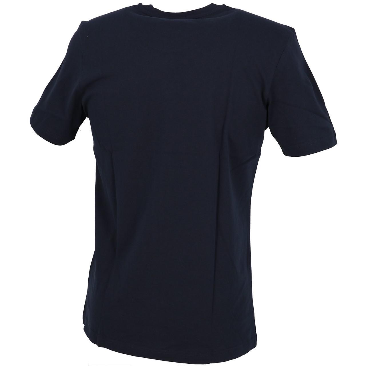 Short-Adidas-Dist-Fnt-Navy-White-Mc-Tee-Blue-29223-New thumbnail 5