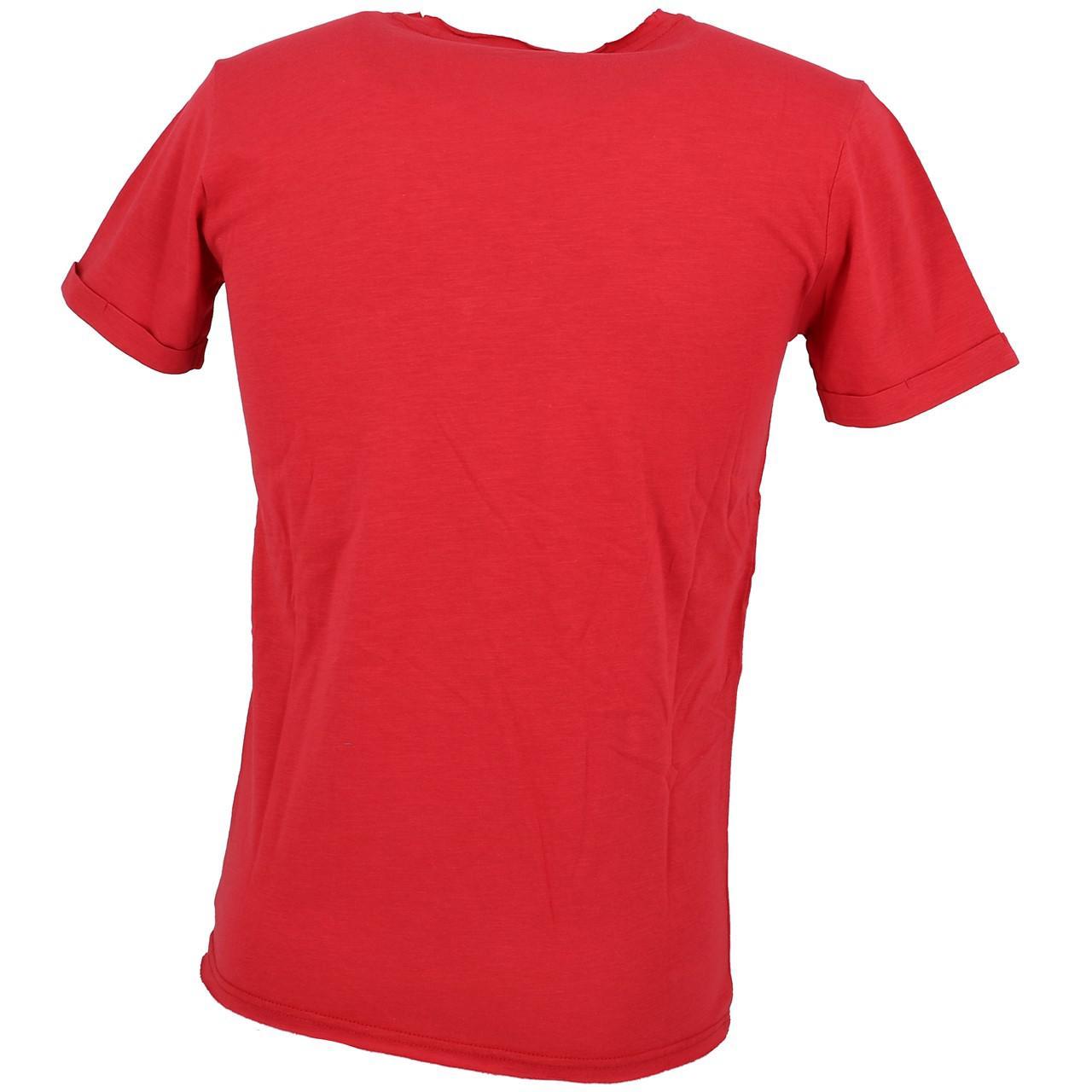 Short-Teddy-smith-Turos-Red-Mc-Tee-Red-30023-New thumbnail 5