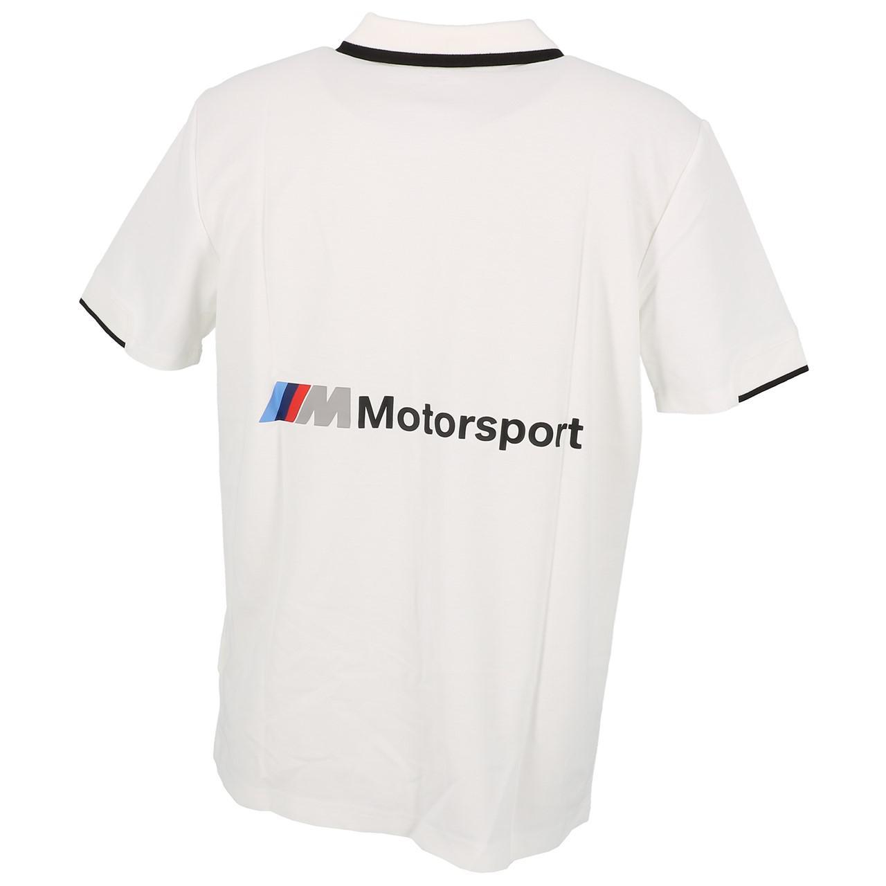 Short-Sleeve-Polo-Puma-BMW-Mms-Wht-Mc-Polo-White-30113-New thumbnail 5