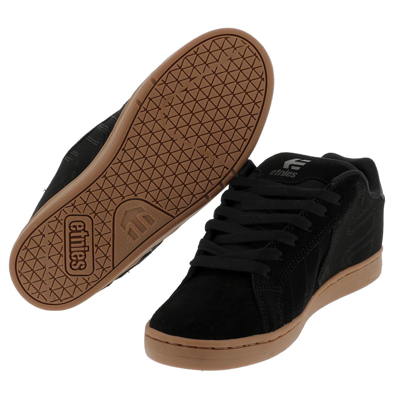 Shoes-Skateboard-Etnies-Fader-Black-Grey-Gum-Black-39127-New thumbnail 5