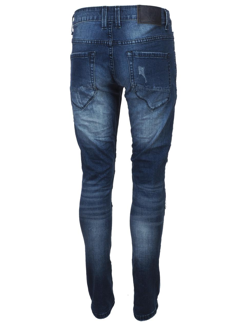 Jeans-Pants-Senders-Angeles-Used-Blue-H-Blue-39982-New thumbnail 5
